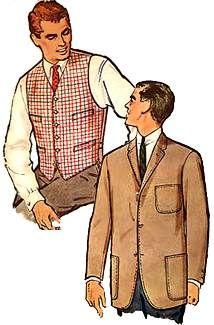 Mode hommes années 50