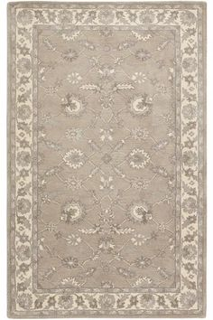 Palazzo Area Rug - Wool Rugs - Hand-tufted Rugs - Traditional Rugs - Border Rugs | HomeDecorators.com