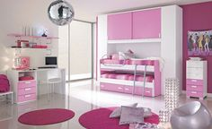 girlish...not bad at all for a girl's room