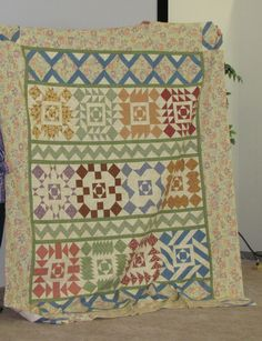 My Thimbleberries quilt I made at Something To Crow About Quilt Camp 2012. I love it:)