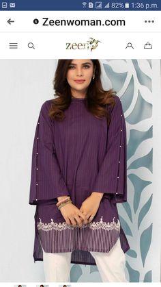 Stylish Dresses For Girls, Stylish Dress Designs, Simple Dresses, Casual Dresses, Baggy Dresses, Beautiful Dresses, Ladies Kurti Design, Kurta Designs Women, Simple Pakistani Dresses