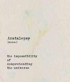 Acetalepsy