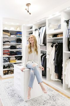 4 Ways to Make Your Closet Feel Like a Luxe Dressing Room via @MyDomaine