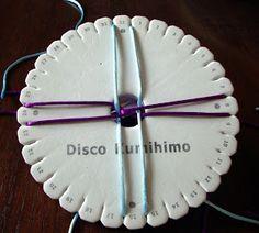 Kumihino XXXVII: Cordón redondo con zig zag longitudinal | Manualidades