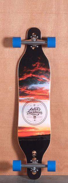 Arbor 40 Axis Koa Longboard Complete
