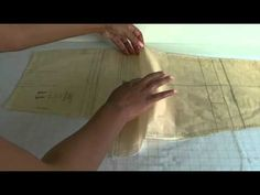 A video tutorial and fashion sewing demonstration on how to true up sewing pattern pieces. If you make your own clothes, this technique is a must for that clean, professional finish..