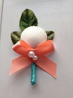 Seashell Beach Destination Wedding Sea Shell by caroledoc on Etsy, $15.00