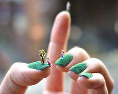 Stilvoll kreativ Nagel Art passen zur Frühling