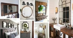 Farmhouse Mirror Designs
