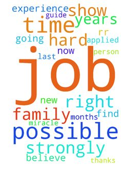 Please pray for me a get a new job. -  Jesus, Im out of job for last 2 12 months. Right now my family is going through a very hard time. We pray every time. I applied every possible jobs. I ask every possible person. Jesus, please guide me and help me to find a job. I have 15 years of IT experience. Jesus, please show me a miracle. I strongly believe in him. Please pray for me. Thanks Jesus Amen RR  Posted at: https://prayerrequest.com/t/Lqu #pray #prayer #request #prayerrequest