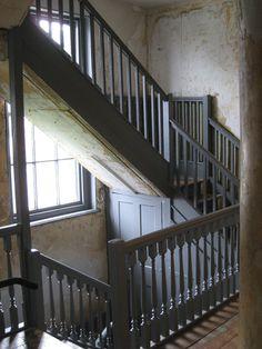 Master Shipwright's House (1705-10) For Joseph Allan, Master Shipwright of the Deptford Dockyard in 1705. Service staircase of circa 1710.