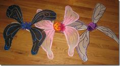 Mommy Blessings: Fairy Wings Tutorial