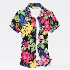 buy with us$20.99 men's hawaiian shirt with size M-6XL and multi-color and multi-pattern. #hawaiianshirt #hawaii #beachshirt #beachwear #shirt #menshirt #shirts #menshirts #mensshirts #summerwear #summershirts $mensfashion #menswear #aliexpress