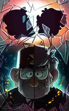 Finally, now I can show you my piece for Gravity Falls countdown! Tomorrow we'll cry our eyes out..