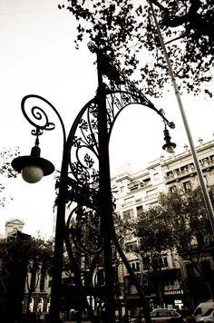 Barcelona street light