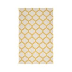 Fretwork Flat Weave Area Rug Quick Information