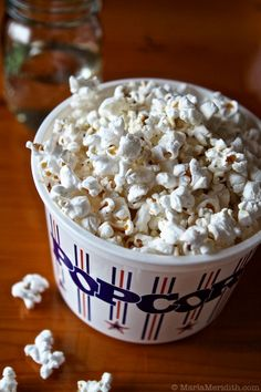 Movie night wouldn't be complete with out popcorn, so try this Lemon Pepper Popcorn snack