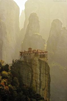Monastério Meteora - Grécia (Patrimônio Mundial pela UNESCO)