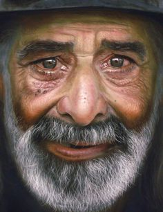 Ultra-Realistic Portrait Paintings by Rubén Belloso – Photoshop and photography galleries Old Faces, Many Faces, Wow Photo, Pastel Portraits, Pastel Paintings, Spanish Artists, Spanish Painters, Pastel Drawing, Interesting Faces
