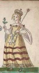 The life of Anabella Drummond (c.1350-1401) is the story of struggle of a Renaissance woman who at the age of 17 married a 30-year old John Stewart, a heir of the siege of Scotland after his father Robert II. Since that time Anabella fought with her husband's brother, Robert, who intended to inherit the throne for himself. Anabella took matters into her hands and did everything to defend the rights of her sons. Her youngest son was crowned as James I of Scotland. Her story~