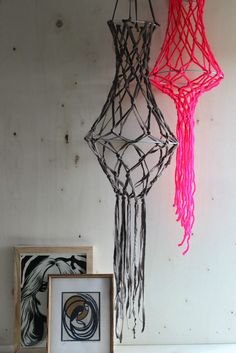 Hanging Macrame Home Decor Accent