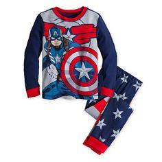 Captain America PJ PALS for Boys