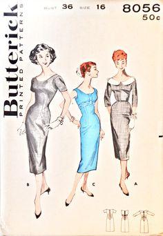 Butterick 8056 (1957)