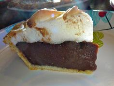 The Hidden Pantry: Chocolate Pie with Meringue and Buttermilk Pie