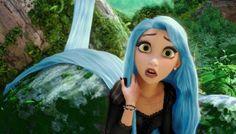Rapunzel feeling blue