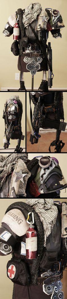 Post Apocalyptic armor - Generation Zero by NeonCowboy on deviantART