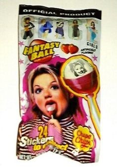 Spice Girls Chupa Chups... just looking at them I remember exactly what they tasted like!