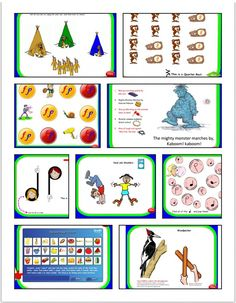 Activities include: Listening for Forte and Piano sounds, MadLips introduction to the Quarter Note, Bubble popping of Quarter Notes, Song: Head and Shoulders, Movie of a live Woodpecker, Rhythm Sticks: Woodpecker echoing activities, Bear Beats and Bear Rests, Catch the raindrop rests, Explore the Clarinet, Rhythm Instrument activities, Song: Alphabet Song and Video, Quarter and Eighth note egg beats, Indian listening activity, Listening for High and Low sounds, Random rood generator…