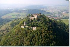 Hohentwiel Ruins ~ Singen, Germany. Beautiful city & source of a pretty funny story.