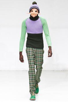 Walter Van Beirendonck Fall 2012 Menswear Fashion Show Quirky Fashion, Fashion Art, Fashion Show, Mens Fashion, Walter Van Beirendonck, Pure Fun, Normcore, Menswear, Couture