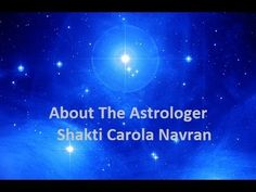 About The Astrologer Shakti Carola Navran Available Online For Readings. To check out an astrologer for you is easy through a video. You have a personal sense & impression to choose wisely. 100% prepared is 100% success!  If you like this go & sign up with http://MauiAstrologyReading.com  for just $ 99 for one hour segments personal #astrology session.