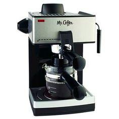 Mr. Coffee® Steam Espresso & Cappuccino Maker, ECM160-NP