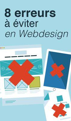 8 erreurs à éviter en Webdesign - Article du blog de www.resonancecommunication.com agence de communication à Carcassonne
