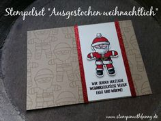 stampin up stampinwithfanny nikolaus weihnachtsmann karte weihnachten christmas santa cookie cutter ausgestochen weihnachtlich lebkuchenstanze weihnachtsgrüße xmas card colorieren #stampinwithfanny