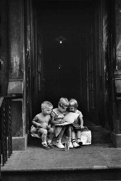 Elliott Erwitt, New York City, 1950.