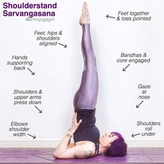 """6 Likes, 1 Comments - Laura Large (@omniyogagirl) on Instagram: """"It's #TriYogaSchool time again, & this week we are studying #shoulderstand or #sarvangasana …"""""""