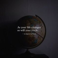 As your life changes so will your circle. via (http://ift.tt/2gRSyqU)