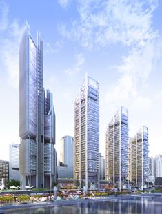 Rogers Stirk Harbour + Partners - Maryah Plaza, Abu Dhabi