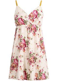 Абрикосовое цветочное шифоновое платье с открытой спиной 336