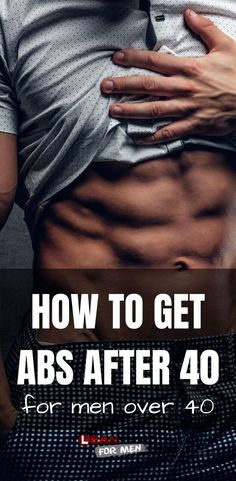 How to Get Abs After In this article I discuss the steps that men over 40 can take to get abs. It's never too late to get abs! Weight Loss For Men, Weight Loss Tips, How To Lose Weight Fast, Fitness Software, Men Over 40, Regular Exercise, Men Exercise, Workout Men, Workout Plans