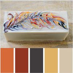 Handmade in Florida: The Secret Feather Swirl No. 2