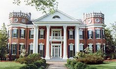 Walter Place in Holly Springs MS....built 1859. Had my bridal portraits made here.  Beautiful home!
