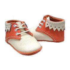 Nemo Oxford bebek ayakkabı Bej-Portakal - Bebek 377633 | zet.com