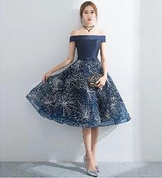 a878fb7303a7 H50 Royal Blue Short/Mini Homecoming Dress Pretty A-Line Homecoming Royal  Blue Shorts. Zibbet