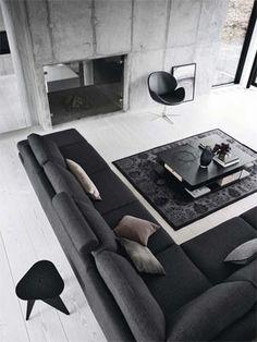 【プログレッシブ】デザインや暮らしぶりにもこだわりを持ち、ワンランク上の上質でスタイリッシュなものを取り入れたいと思う方に合うインテリアです。高級感のあるスタイリッシュな家具に囲まれ、ゆったりとした空間で上質な時間を過ごしたいと思っている方に向いたスタイル。 北欧インテリア