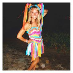 Alyssa the Pinata! cute costume!